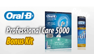 Oral-B Professional Care 5000 Bonus Kit