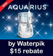 Waterpik Water Flosser WP-660 Dental Water Jet Promotion